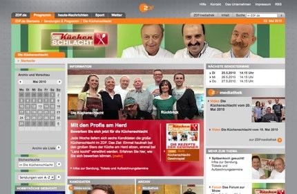 Küchenschlacht Screen von ZDF