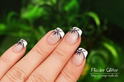 Nail Art - Flieder