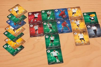 Rewe Fußball-Sammelkarten