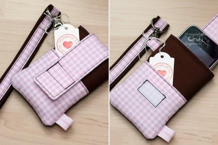 Zuckernadel Design - iPhonetasche - Handmade