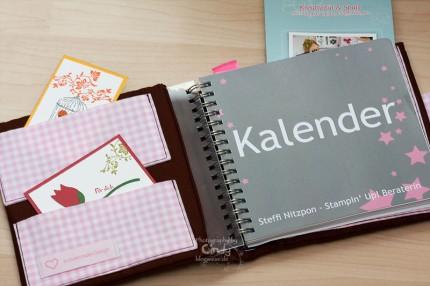 Zuckernadel Design - Kalendertasche - Handmade