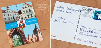 Postkarte aus Jarmen