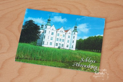 Postkarte aus Ahrensburg