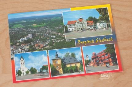Postkarte aus Bergisch Gladbach
