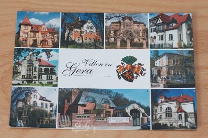 Postkarte aus Gera
