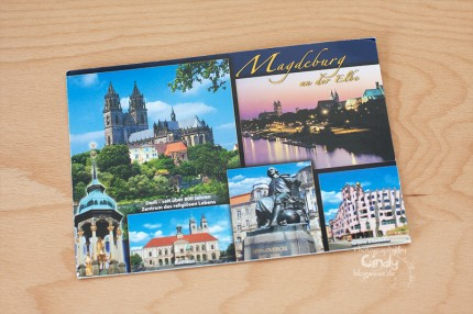 Postkarte aus Magdeburg