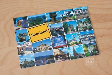 Postkarte aus Saarlouis