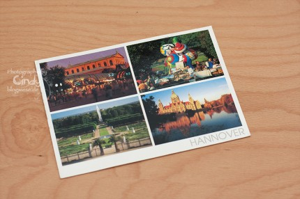 Postkarte aus Hannover