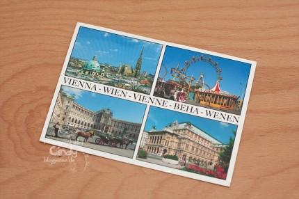 Postkarte aus Wien