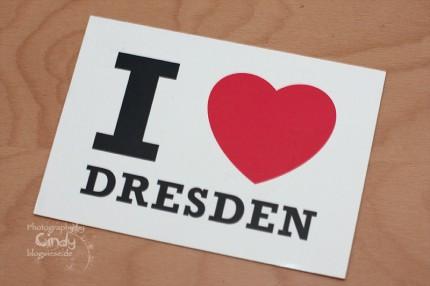 Postkarte aus Dresden