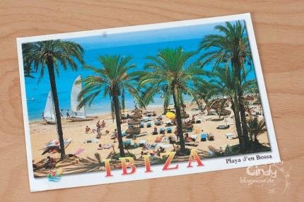 IbizaPostkarte aus New Mexico