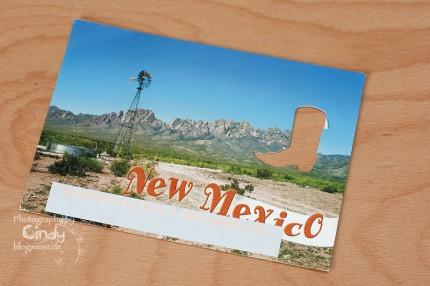 Postkarte aus New Mexico