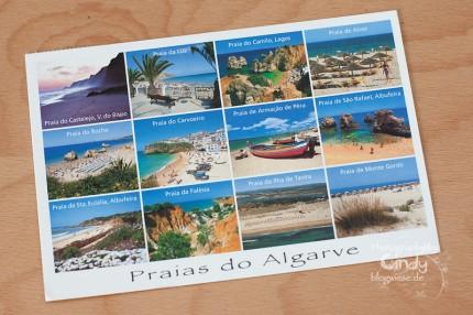Postkarte aus Lagos, Portugal