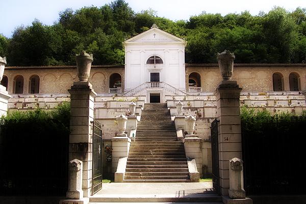 Friedhof in Salo - Italien