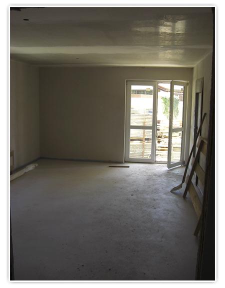 1. Foto Wohnzimmer - Baustelle