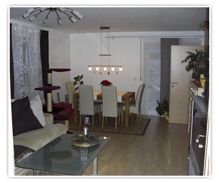 4. Foto Wohnzimmer - Fertig eingerichtet